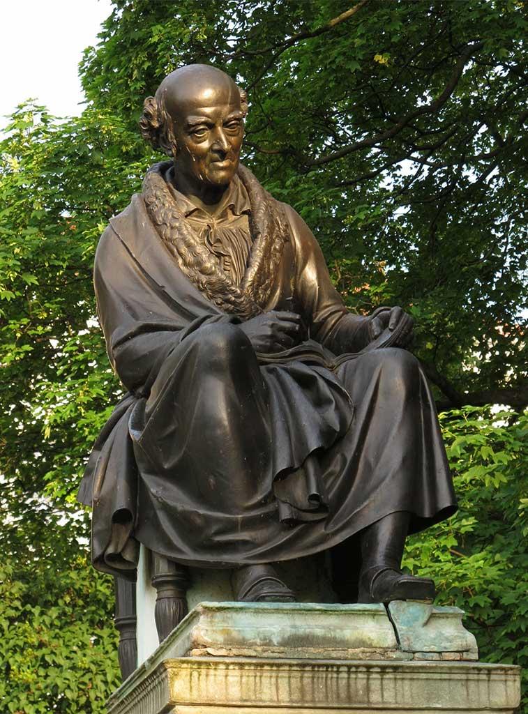 Hahnemann Statue